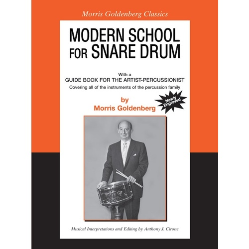 Modern School for Snare Drum - Morris Goldenberg