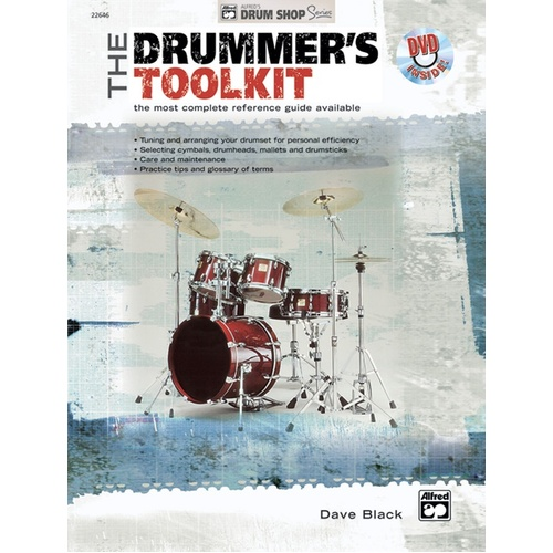 The Drummer's Toolkit Book/DVD - Dave Black