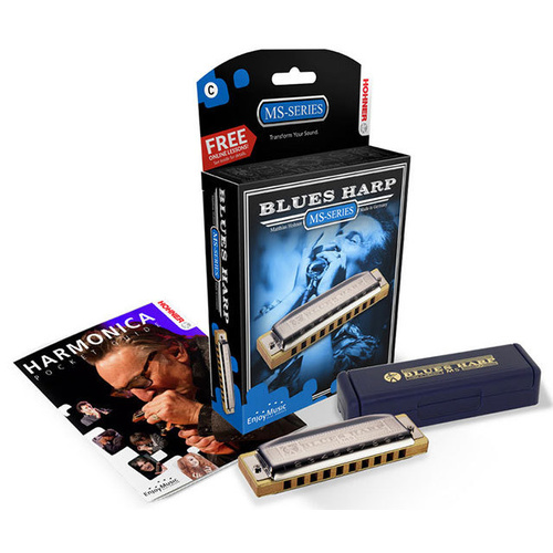 Hohner MS Series Blues Harp Harmonica in the Key of G