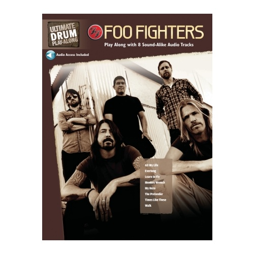 Foo Fighters Ultimate Drum Play-Along Book / 2 CD Pack