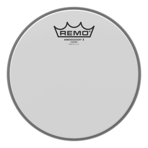 Remo Ambassador X - Coated 8""