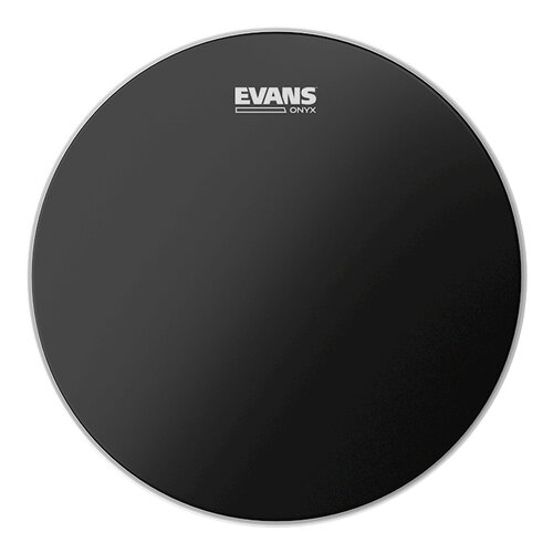 "Evans 8"" Coated Onyx Head"