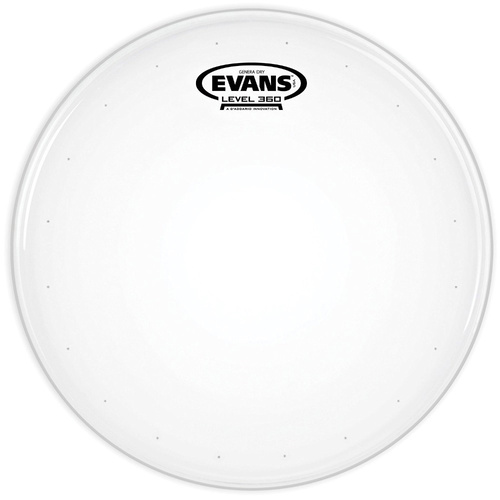 "Evans 14"" Genera Dry w/ Hazy 300 Resonant Head Snare Pack"