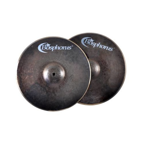 "Bosphorus 14"" Black Pearl Hi Hats"