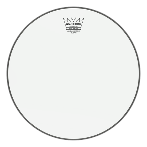 Ambassador® Clear Classic Fit Drumhead, 12""