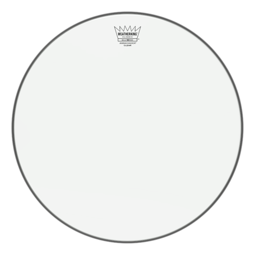 Ambassador® Clear Classic Fit Drumhead, 16""