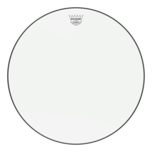 Ambassador® Clear Classic Fit Drumhead, 18""