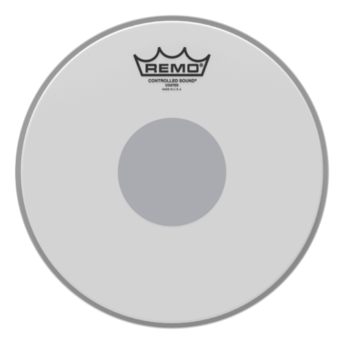 Controlled Sound® Coated Black Dot™ Drumhead - Bottom Black Dot™, 10""