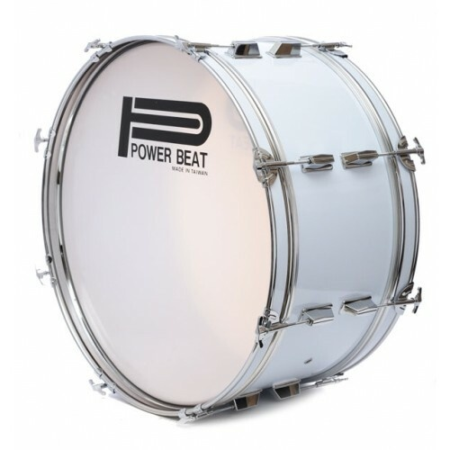 "Power Beat Marching and Concert Bass Drums [Drum Sizes:24"" x 10""]"