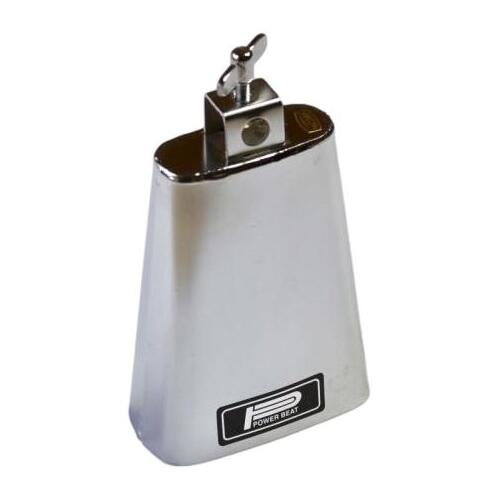 Powerbeat Chrome Cowbell: 6 1/2""
