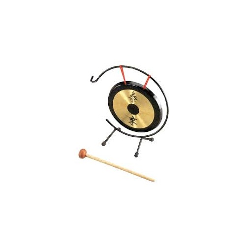 "AMS Chinese Gong 7""  w/stand and mallet"