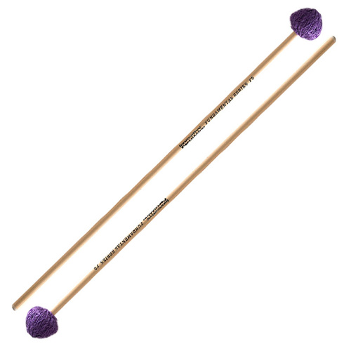Innovative F6 Fundamental Series Hard Vibraphone Mallets with Rattan Shafts