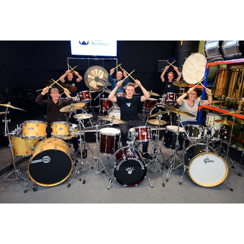 "Groove Warehouse ""One Off"" Drumset Class"