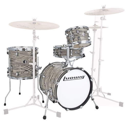 "Ludwig 16"" Breakbeats Shell Pack Finish: Sahara Swirl"