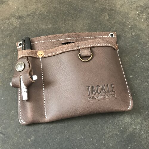 Leather Clip-On Gig Pouch