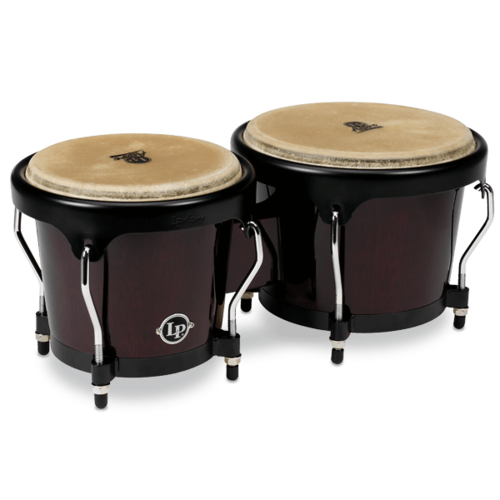 LP Aspire Series  Bongos Dark wood