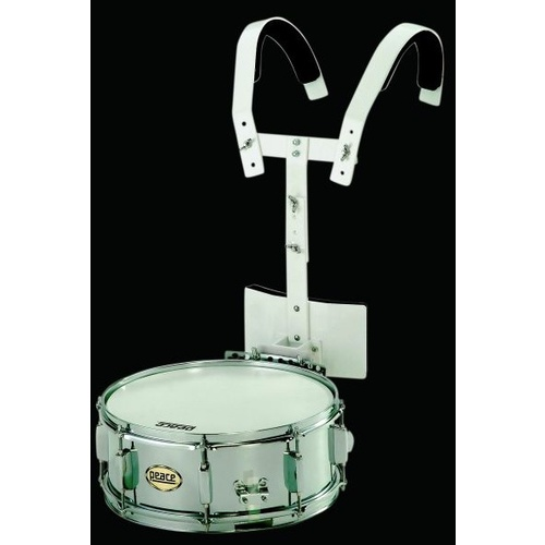 Peace 14 x 5 Marching Snare with Harness
