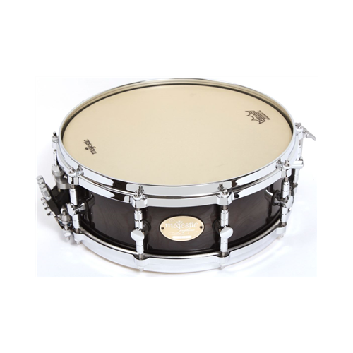MAJESTIC 14 X 5 INCH SNARE DRUM WALNUT BROWN SUGAR BURST