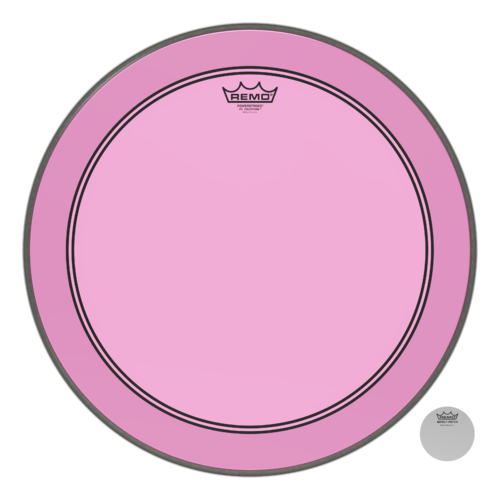 Powerstroke® P3 Colortone™ Pink Bass Drumhead, 20""