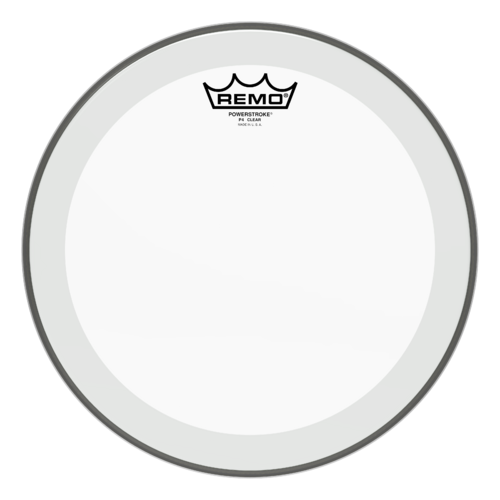 "Remo 12"" P4 Powerstroke 4 Clear Drum Head"
