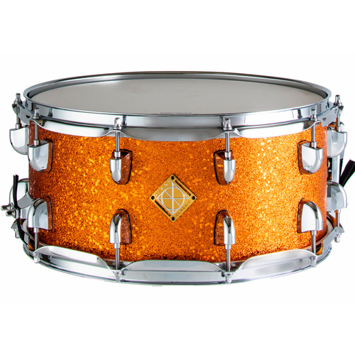 Dixon Classic Snare Drum 14 x 6.5 Orange Sparkle