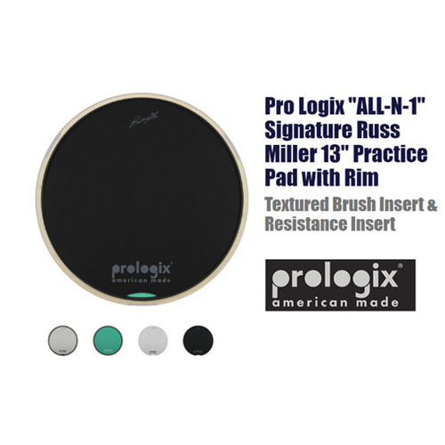"Prologix 13"" All in 1 Russ Miller Practice Pad"