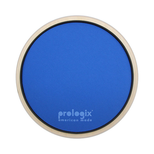 "Prologix 10"" Blue Lightning Practice Pad with Rim - Heavy Resistance"
