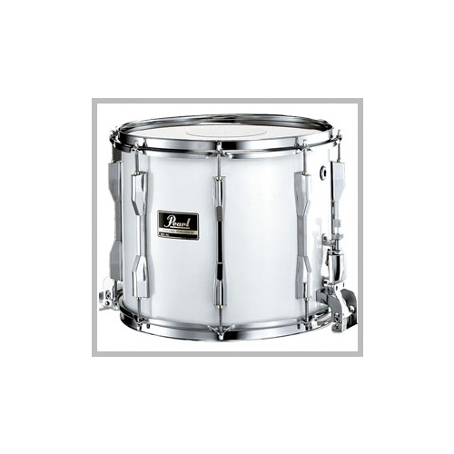 "Pearl Competitor 14"" x 12"" Marching Snare Drum - Pure White"