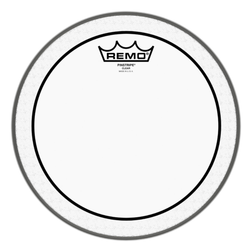 Remo Pinstripe - Clear 10""
