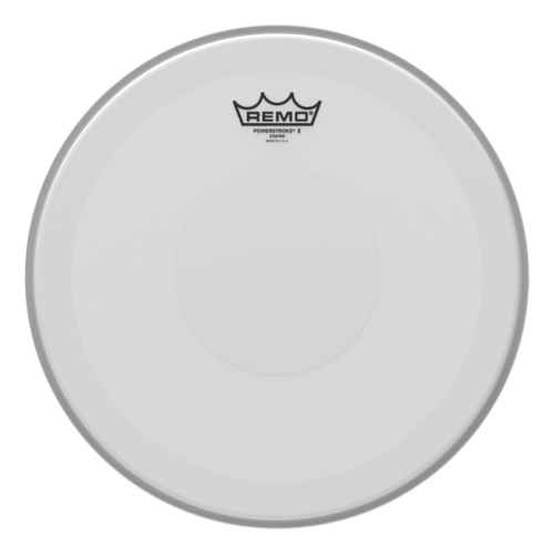 "Remo 14"" Powerstroke 3 - Coated Top Dot"