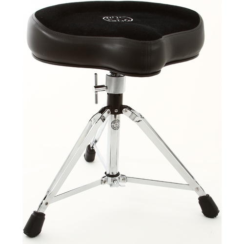 ROC-N-SOC DRUM THRONE MANUAL SPINDLE W/ORIGINAL BLACK SEAT