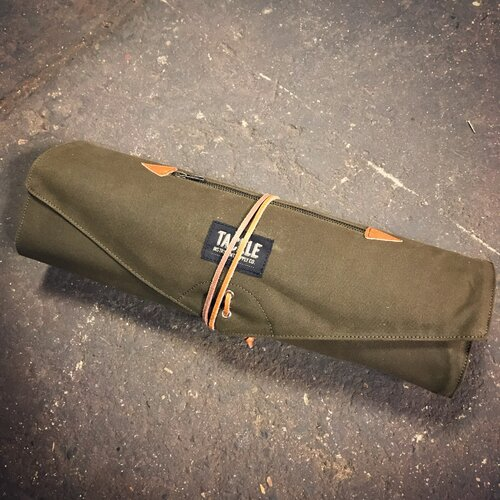 Tackle Roll-Up Stick Bag - Forest Green