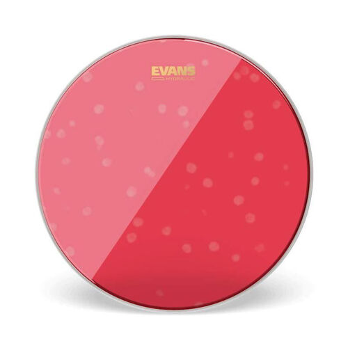 "Evans 10"" Hydraulic Red Drum Head"