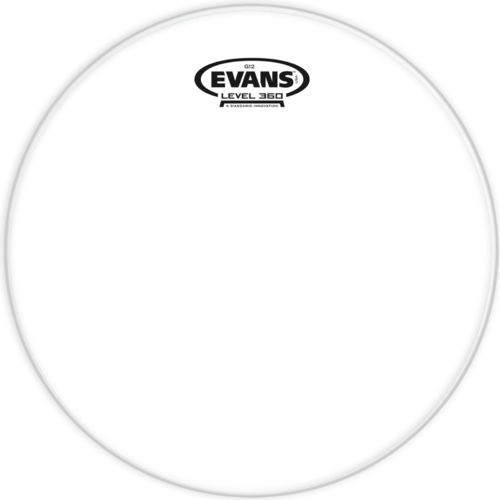 Evans G12 - Clear 12""