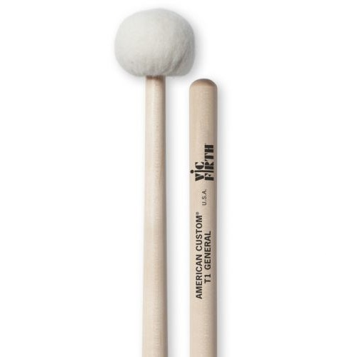 GENERAL TIMPANI MALLETS 1.5 INCH HEAD T1