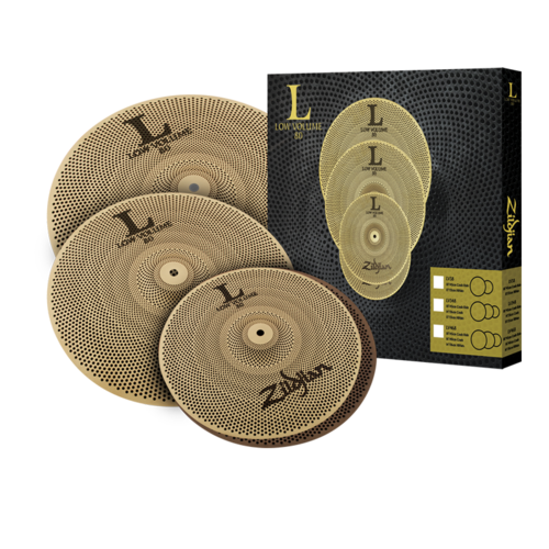 Low Volume L80 14/16/18 Cymbal Set